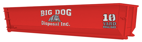 big dog disposal , 10 Yard Roll Off, dumpster