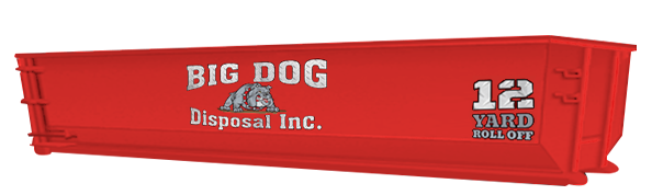 big dog disposal ,12 Yard Roll Off, dumpster