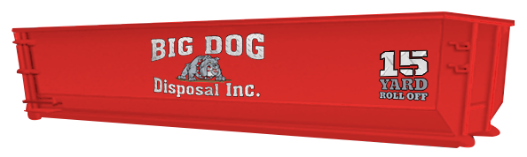 big dog disposal ,15 Yard Roll Off, dumpster