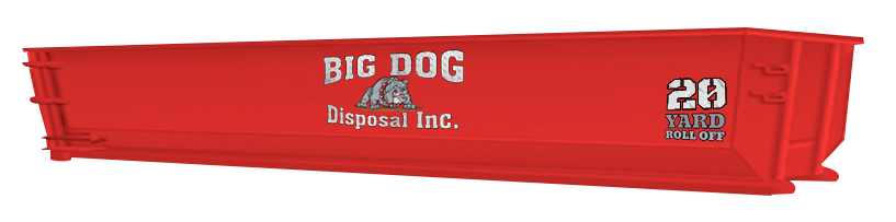 big dog disposal ,20 Yard Roll Off, dumpster