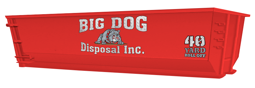 big dog disposal ,40 Yard Roll Off, dumpster